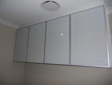 Aluminium framed glass doors