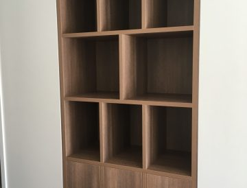 entry nook feature shelving 1