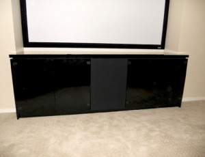 modern black entertainment cabinets