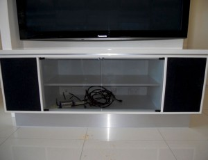 dvd player cabinets