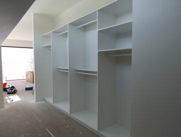 White Melamine wardrobe